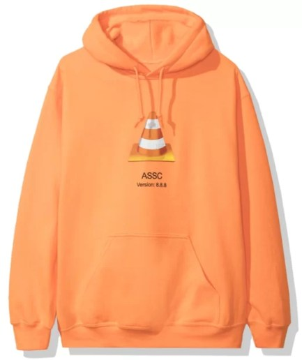 Anti Social Social Club Awi Hoodie – Orange-Front