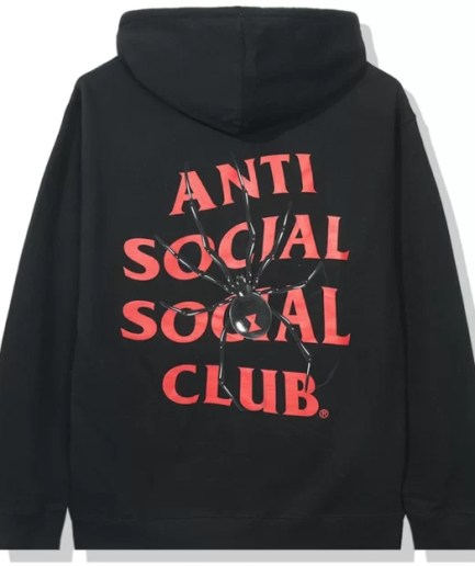 Anti Social Social Club Bitter Hoodie-Back