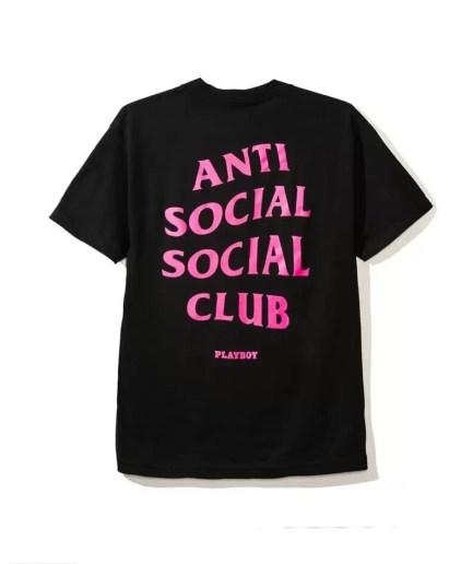 Playboy x Anti Social Social Club Tee-Back