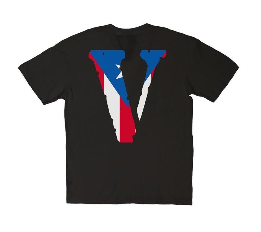 Vlone Friends Biden USA Flag Logo T-Shirt
