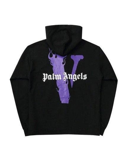 VLONE Palm Angel Hip Hop Black Hoodie