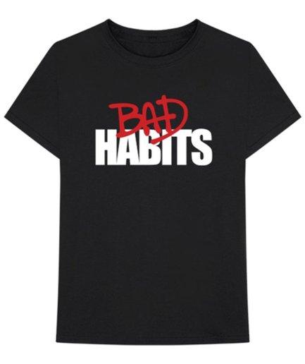 Vlone x Nav Drip Bad Habits Black Tee