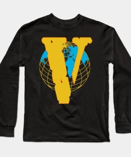 Juice Wrld x Vlone Earth Sweatshirt-Front