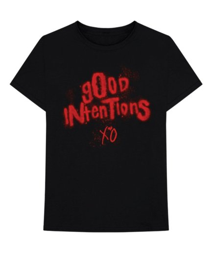 Nav x Vlone Good Intentions XO Black Tee
