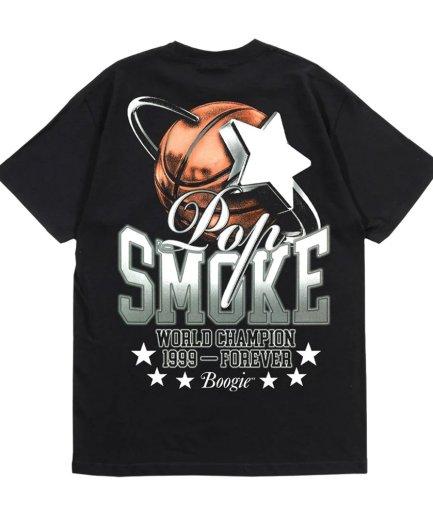 Pop Smoke World Champion Black T-Shirt