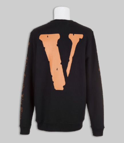 OFF-WHITE X VLONE Black Sweater