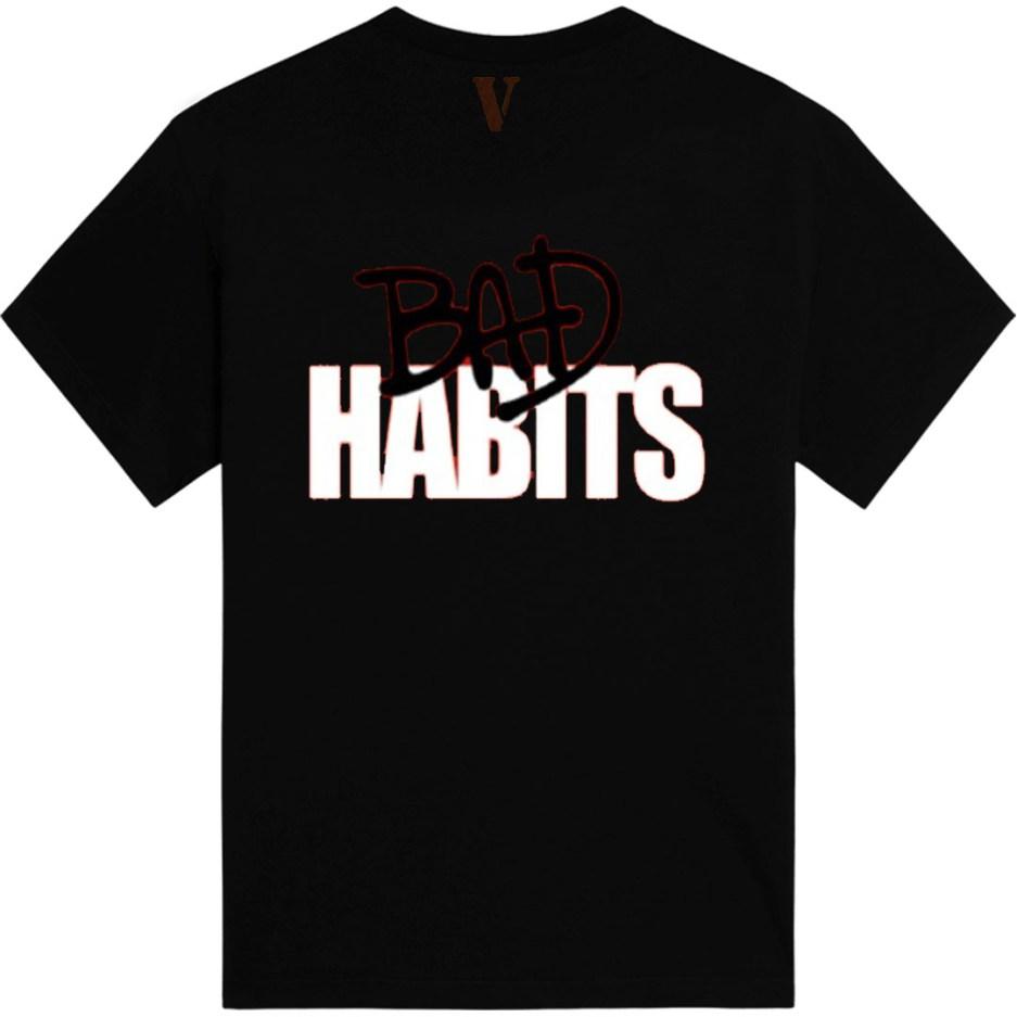 Nava VLONE Drip T-Shirt Vlone Shop Black