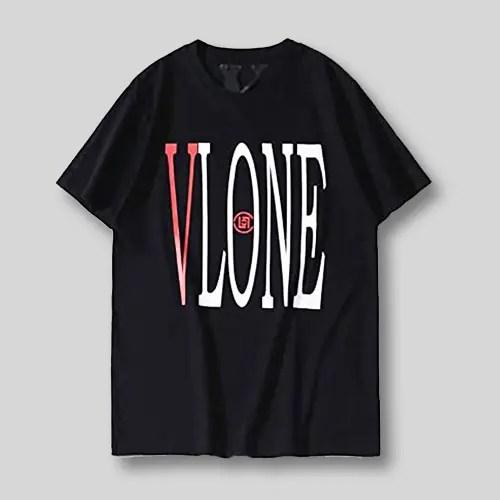 Vlone X Clot dragon tee in Black