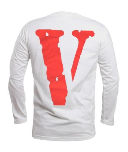 Vlone x Tupac Rebel Of The Underground longsleeve - White back