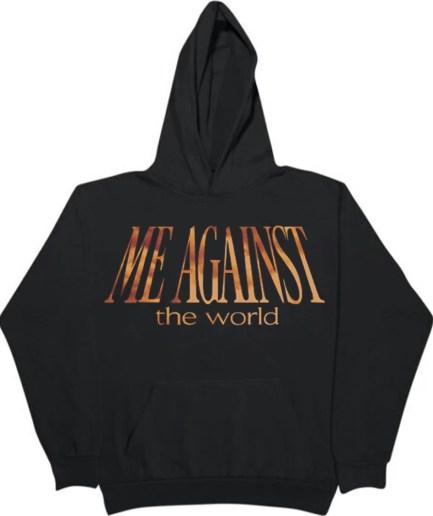 Vlone x Tupac Me Against the World Black Hoodie
