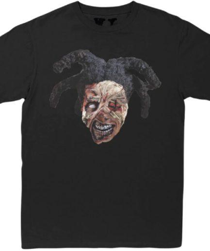 Kodak-Black-x-Vlone-Zombie-Black-T-Shirt-Front-
