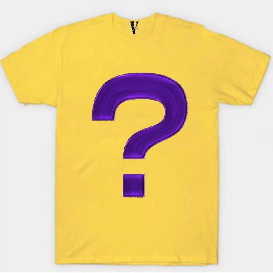 Mystery T-Shirt-Yellow