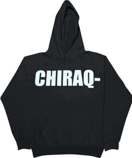 Vlone Chicago Chiraq- Hoodie–Black-Front