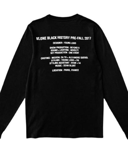 Vlone Black History Sweatshirt-Black