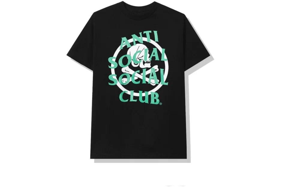 Anti Social Social Club x Neighborhood Black Tee-Back