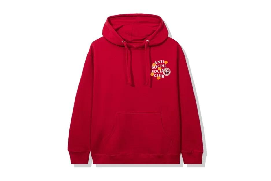 Anti Social Social Club x Panda Express Red Hoodie