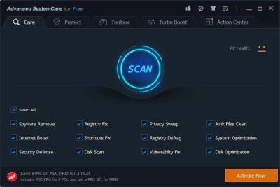 Advanced SystemCare 12.1.0.210 Crack With Serial Key Free Download