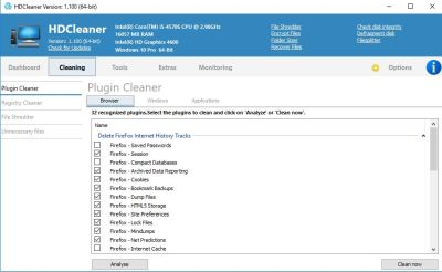 HDCleaner 1.150 Crack