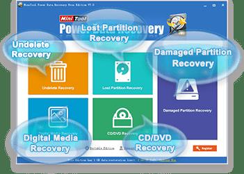 MiniTool Power Data Recovery Free Edition 8.0 Full Crack
