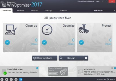 Ashampoo WinOptimizer 17.00.24 Crack + License Key Full Download