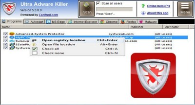 Ultra Adware Killer 9.1.0.0 Serial Key With Crack Full Version 2021