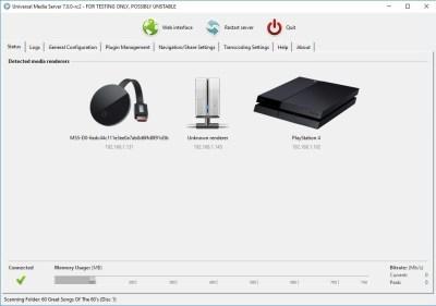 Universal Media Server 7.3.1 Mac