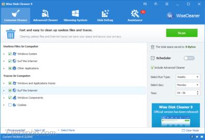 Wise Disk Cleaner 10.3.3.785 Serial Key + Crack 2020 Full Download