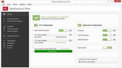Avira Antivirus Pro 15.2009.1995 Crack + Activation Code Free 2020
