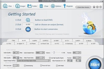 WinX DVD Ripper Platinum 8.20.5.245 Crack + Keygen [Mac/Win] 2021
