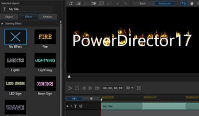 PowerDirector 17 Build 2514 Crack + Serial Key Download 2019