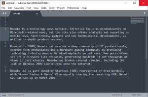 Sublime Text 3.2.1 Build 3207 Crack Lifetime License Key