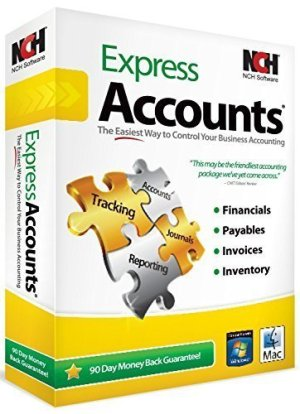 Express Accounts Accounting Software 9.00 + Serial Number 2021