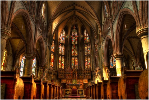 churches lighting