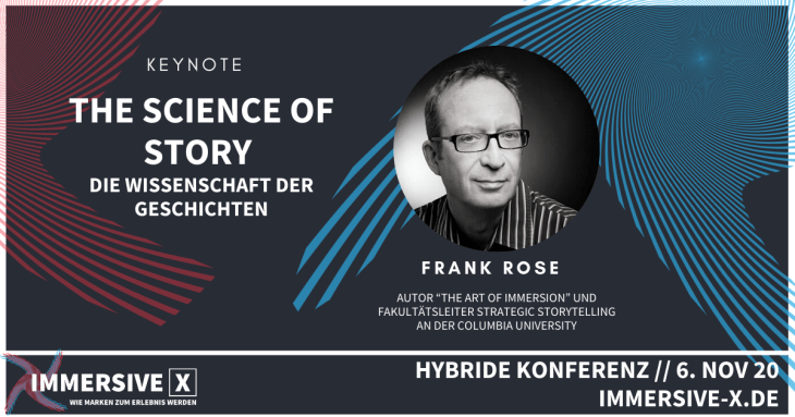 The Science of Story: Keynote by Frank Roe at IMMERSIVE X