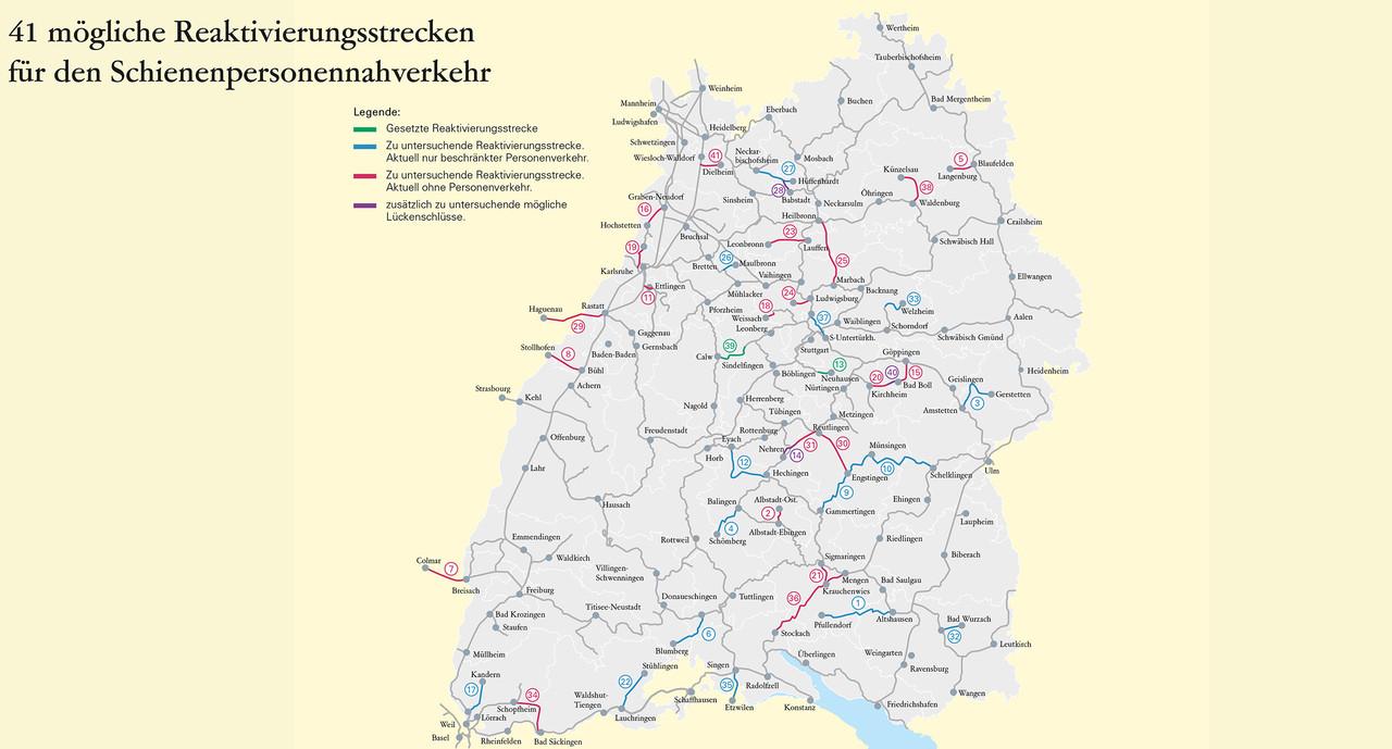 Minister Hermann Stillgelegte Bahnstrecken Mit Hohem