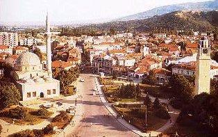 Bitola square.