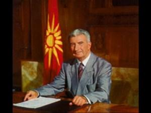 President Kiro Gligorov
