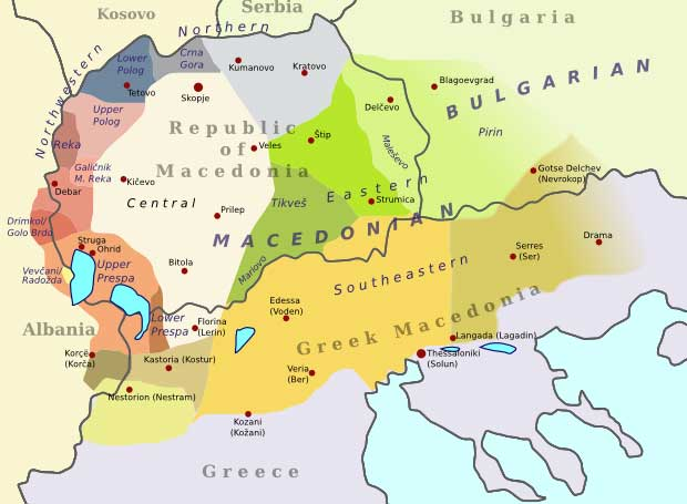 The Macedonian Language