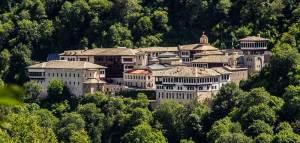 Sv. Jovan Bigorski Monastery in Macedonia.