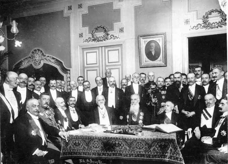 The Treaty of Bucharest August 10, 1913