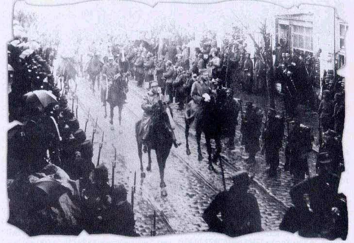 Georgios I – king of the Greeks on the Greek Occupation of Macedonia