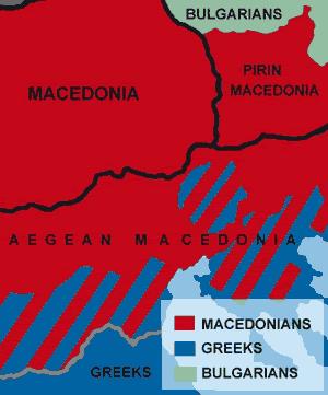 Macedonians in Aegean Macedonia