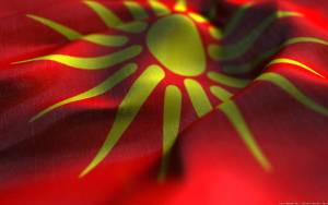 Wavy Macedonia Flag