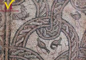 Polyconch Basilica Mosaic Ohrid, Macedonia.