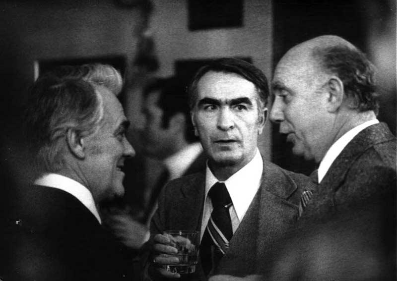 Dimitar Kondovski, Aco Sopov and Spase Kunevski