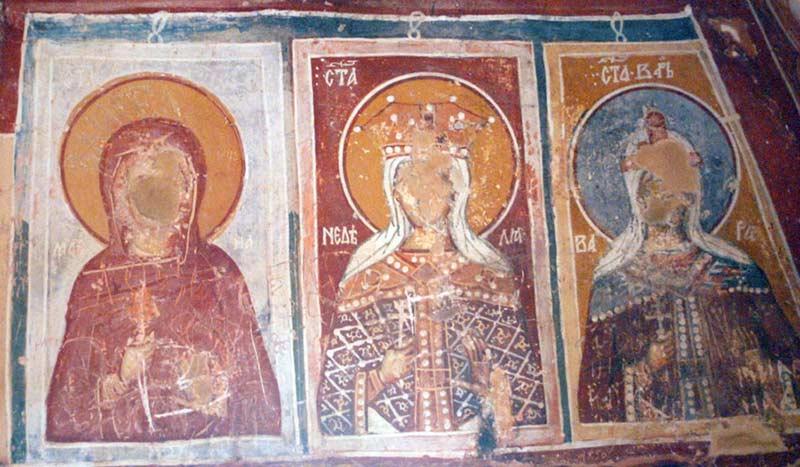 St. Athanasius church fresco