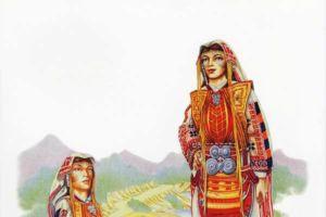 Bridal costume, Golo Brdo, Debarsko - village Drenok.
