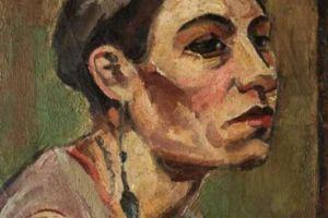 Nikola Martinoski - Bust of a woman - Глава на жена - 1928