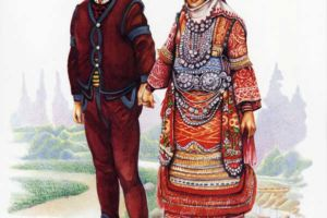 Bridal costumes, Prilepsko Pole.