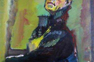 Nikola Martinoski - Self-portrait - Автопортрет - 1969